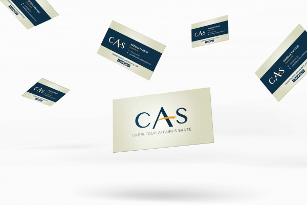 Cartes d'affaires CAS