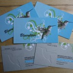 Cartes affaires Blucultur
