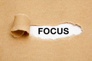 Restez focus sur le client cible