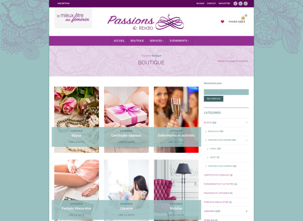 E-commerce Passions & Lidido