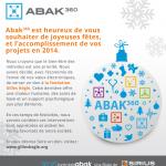 Carte de Noël Abak 360