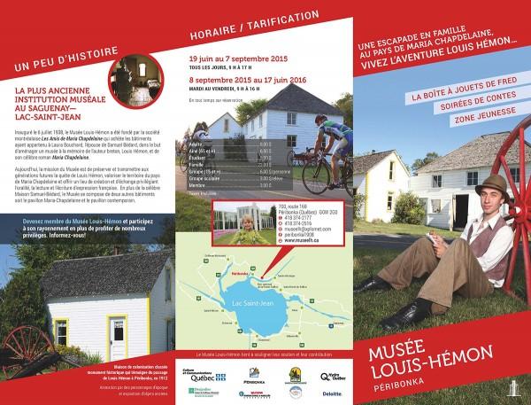 Brochure Musée Louis-Hémon