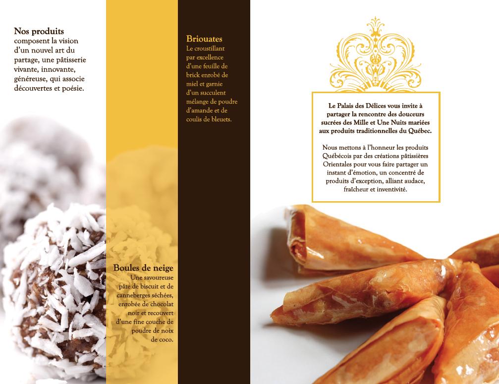 Brochure Palais des Délices