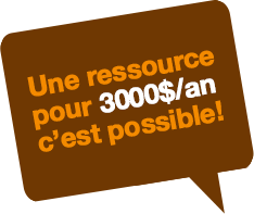 Impartition marketing: une ressource pour 3000$ par année c'est possible!