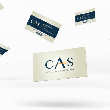 Cartes d'affaires CAS
