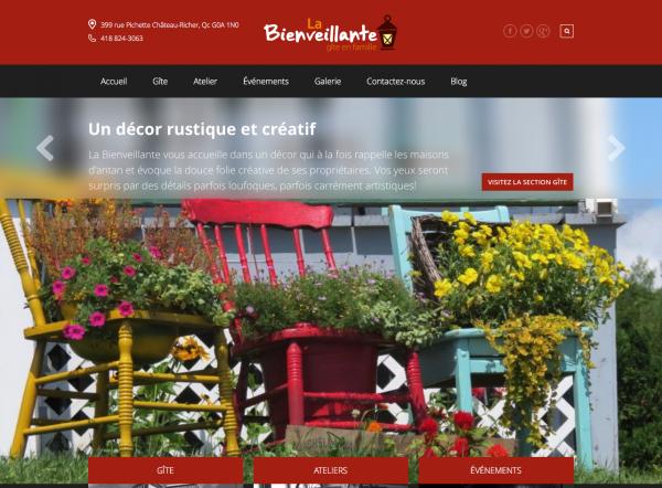 Site web La Bienveillante