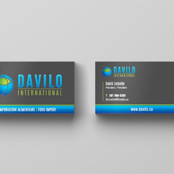 Davilo Cartes d'affaires