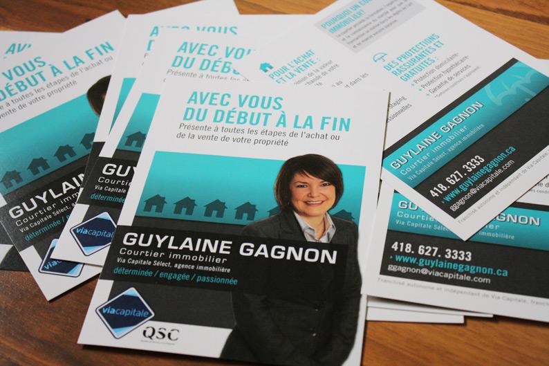 Flyers Guylaine Gagnon