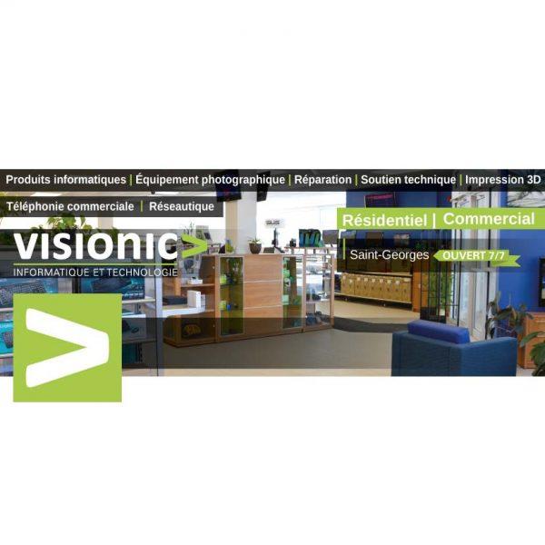 Visuel Facebook pour Visionic